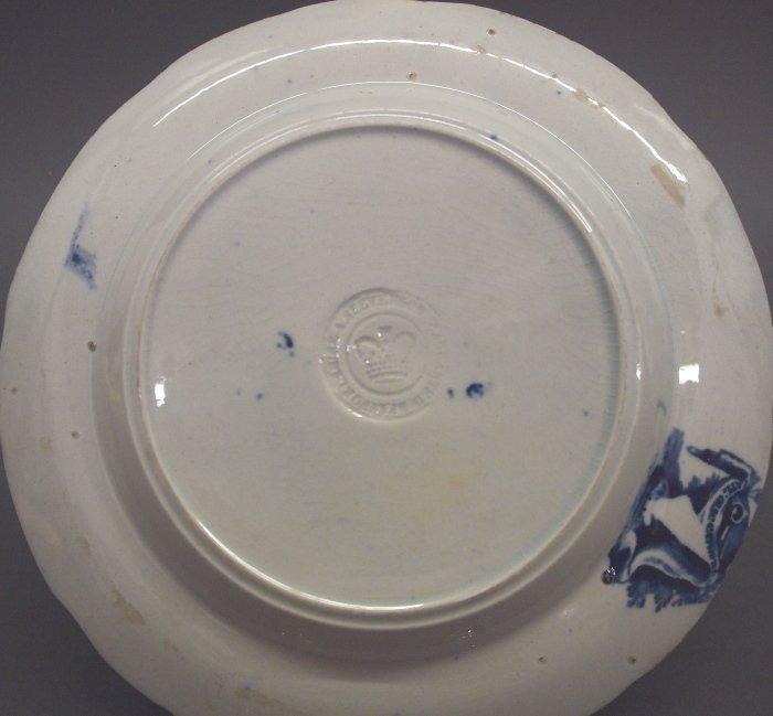 2 Historical Staffordshire plates - 2