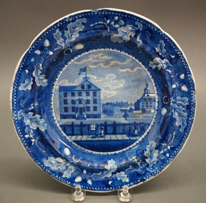 2 Historical Staffordshire plates - 3
