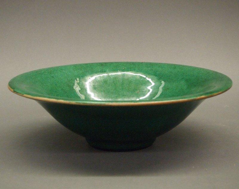 Chinese crackle glaze bowl - 2
