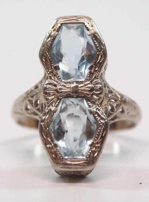 Aquamarine ring - 2
