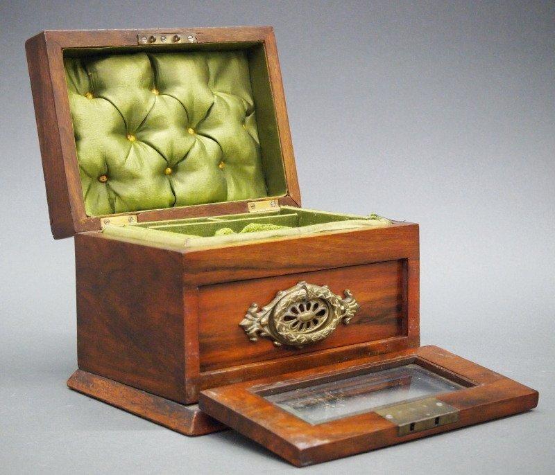 Late 19th c jewelry box