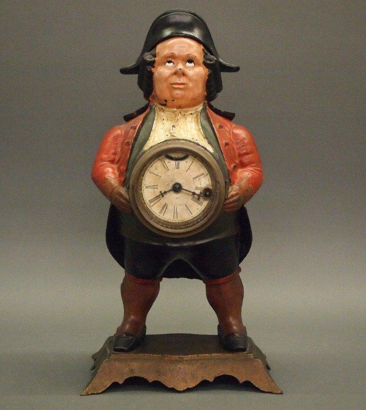 Bradley & Hubbard blinking eye clock