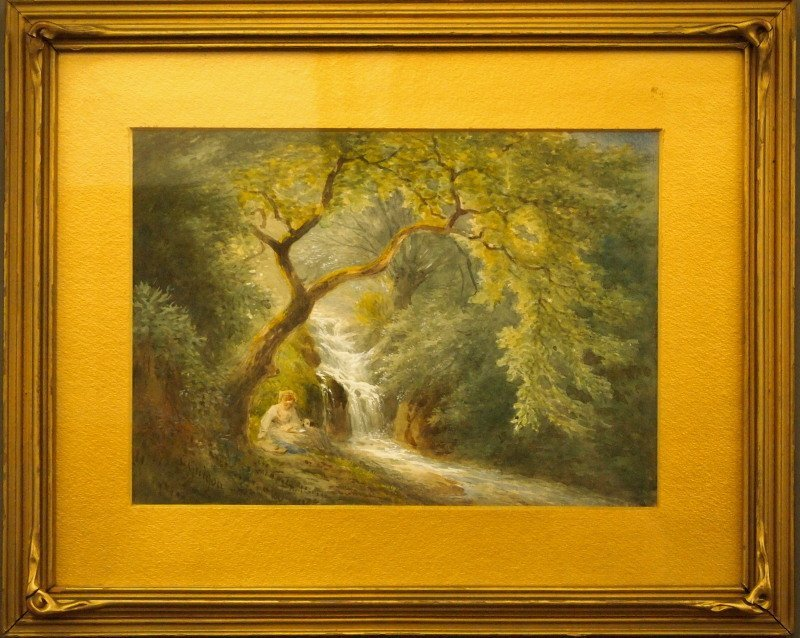 C. Guigon wooded landscape