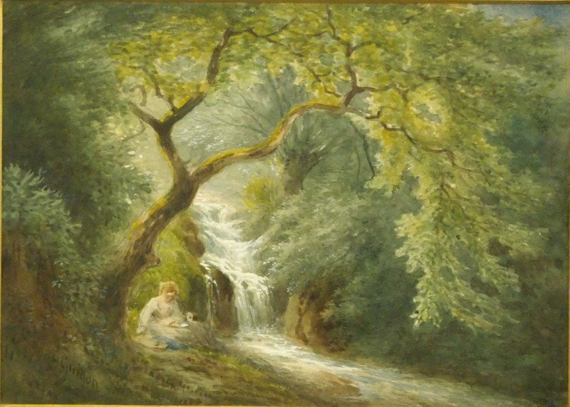 C. Guigon wooded landscape - 2