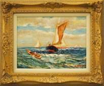S. Morris, seascape