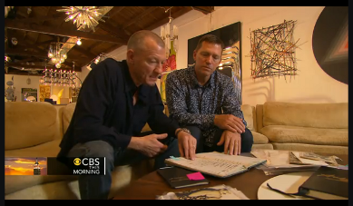 Screenshot of CBS TV