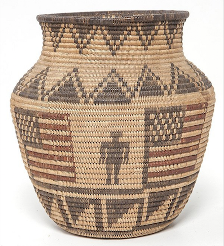 Woven legacies: Native-American baskets