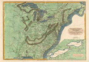 War of 1812 map on front line of March 20 auction