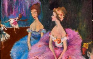 Neiman ballet painting in spotlight at Revere Auctions March 24
