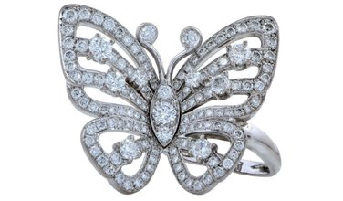 Van Cleef & Arpels butterfly could soar at Jasper52 sale March 27