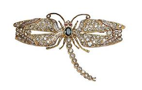 Jeweled dragonfly brooch adds sparkle to Oakridge's Oct. 23 auction