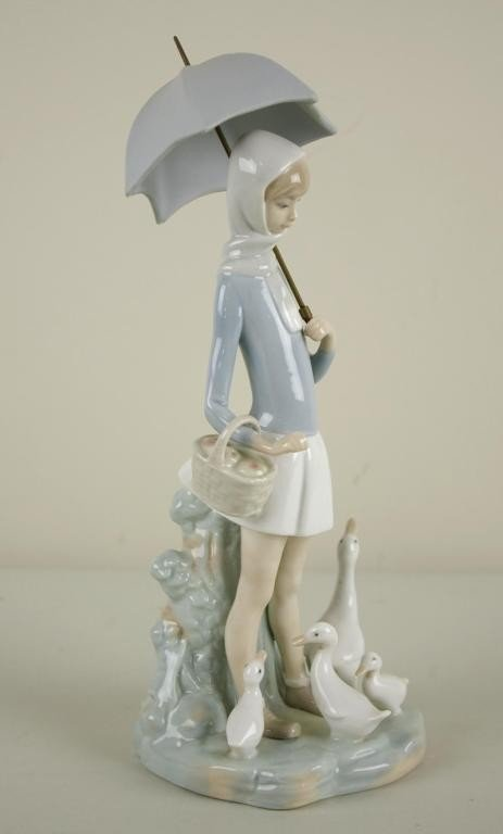 Numeric list of Lladro retired pieces in stock