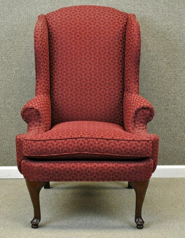 THOMASVILLE QUEEN ANNE WING CHAIR Lot 219