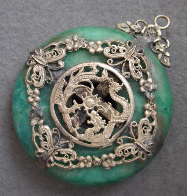 jade dragon pendant meaning