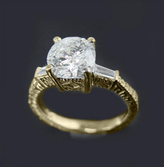15 1 5 CT Diamond Ring Appraised at $15 000 Lot 15