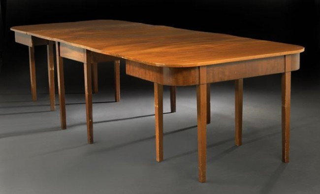 Dining Table Federal Mahogany Dining Table
