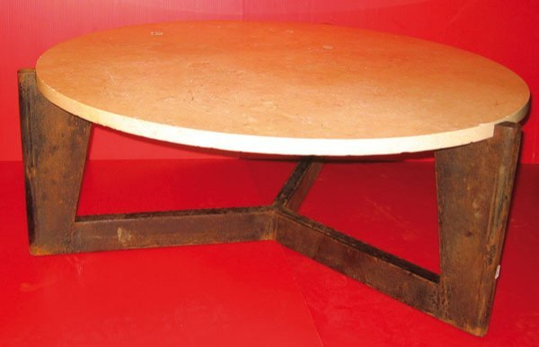 5m jean prouve table basse pi tement en t le lot 198 - Table basse jean prouve ...