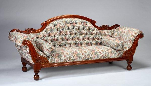 327 Modern American Empire Style Sofa Lot 327