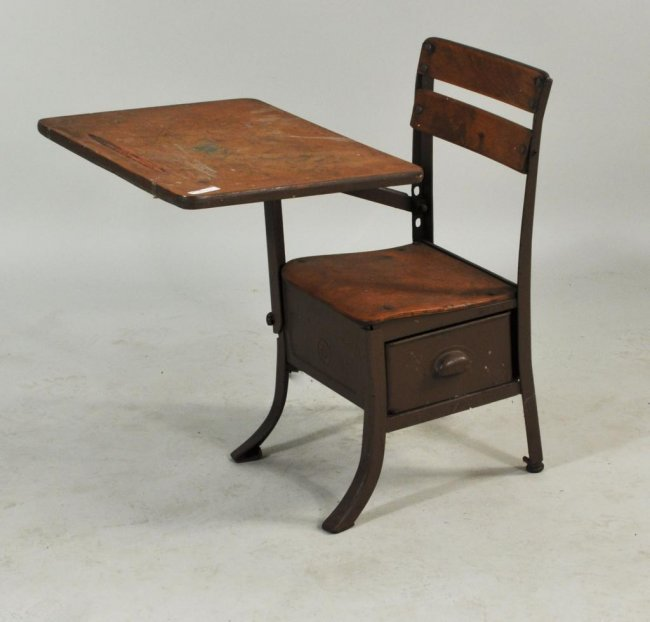 Wooden School Desk ~ Moved permanently