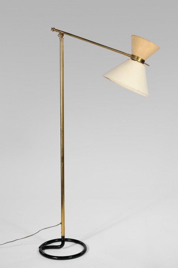 400 travail francais 1950 lampadaire bras articul e lot 400 - Lampadaire bras articule ...