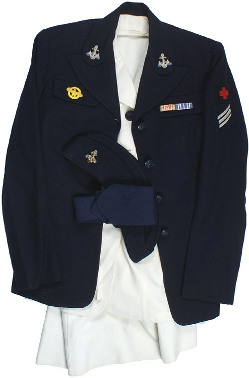 662: U.S. WWII Navy WAVE uniform