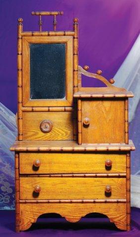 91 Antique Doll Dresser Lot 91