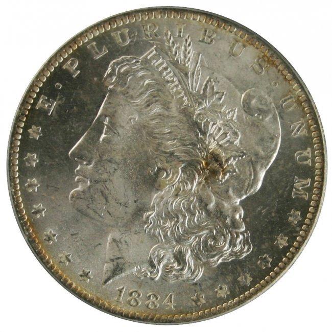 1884-S $1 Morgan Silver Dollar for sale online | eBay