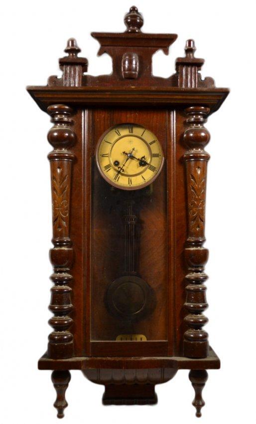Wall Clock, Junghans, German : Lot 992