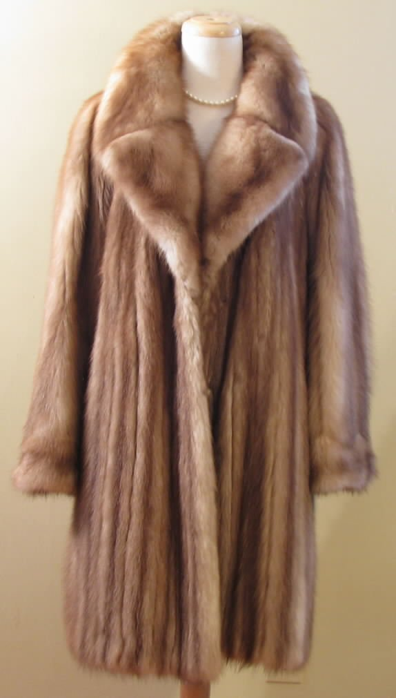 Marten Fur Coat Tradingbasis