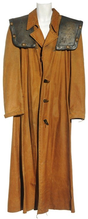 241: Ronon's Leather Duster Jacket : Lot 241