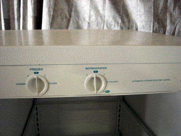 69 Roper Side By Side Refrigerator Lot 69