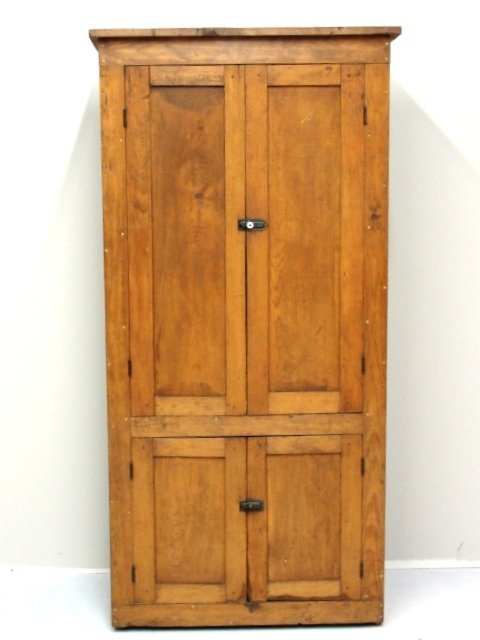 106 Early Country Pantry Storage Cabinet 1850 39 S Lot 106