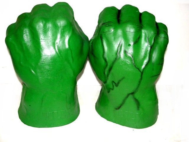 Hulk fists with sound