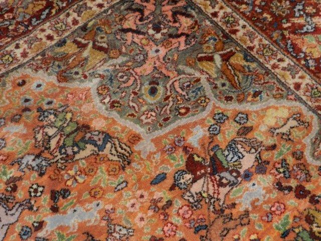 Karastan Hunting Scene Karastan Carpet Lot 2319