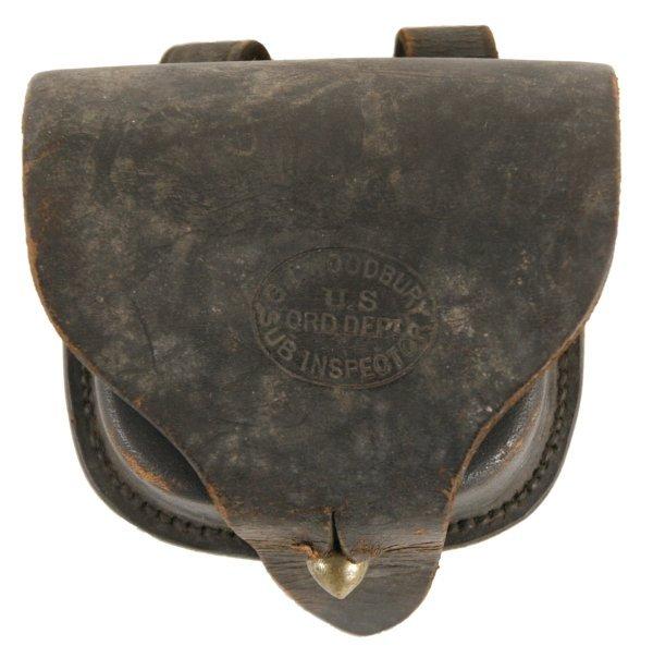 368: Civil War Percussion Cap Box : Lot 368