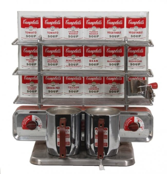 Campbell's Soup Counter Top Kitchen : Lot 291