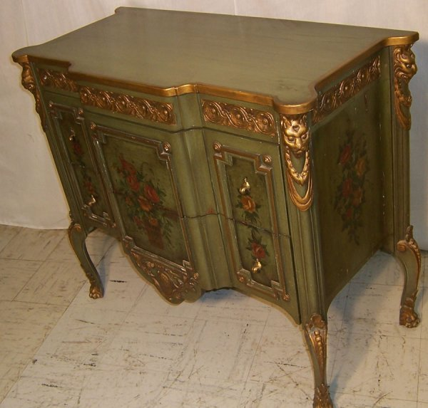 26: French Style Cabinet Made By Lammert Furniture : Lot 26