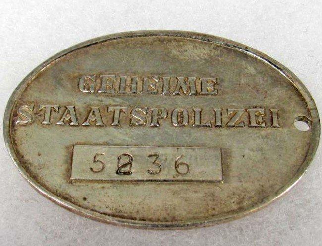 Nazi poker chip set