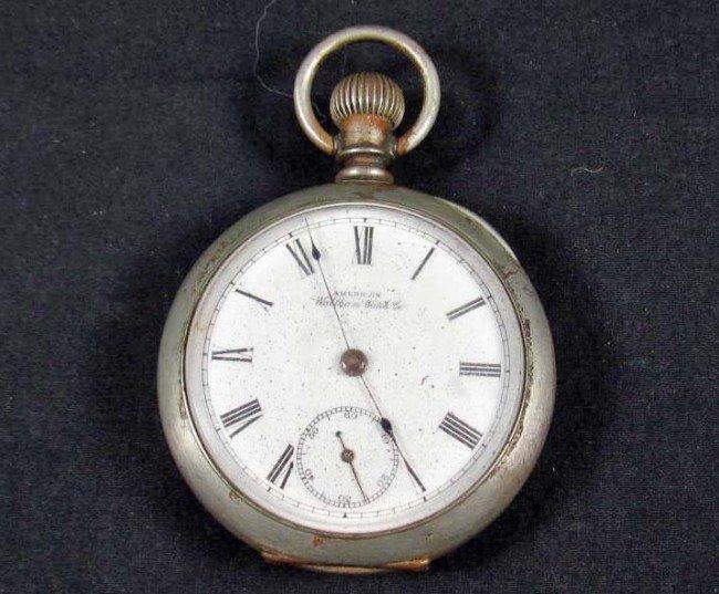 american waltham pocket watch serial numbers