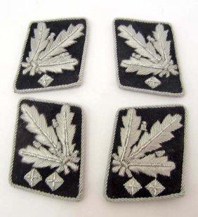 lot of 2 pair of german nazi waffen ss shultz staffel
