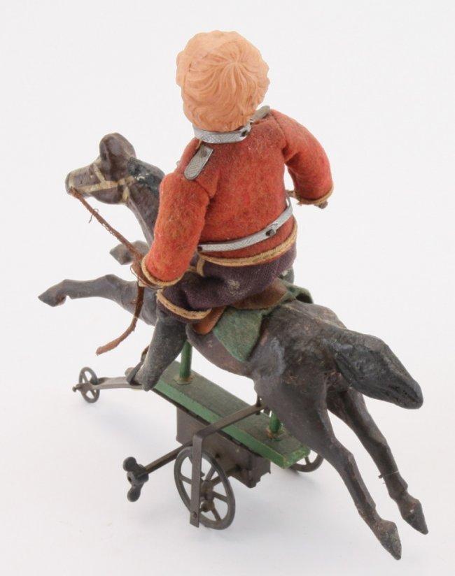 Horse Toys For Boys : Boy riding horse toy lot