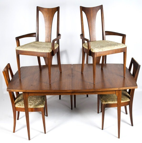 364 mid century modern dining set by broyhill premier lot 364