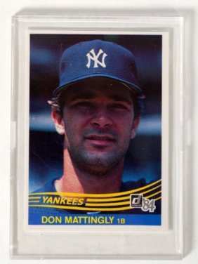 298 1984 Donruss 248 Don Mattingly Lot 298