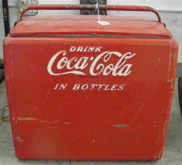 Vintage Coca Cola Chest Coolers - Vintage Soda Machine