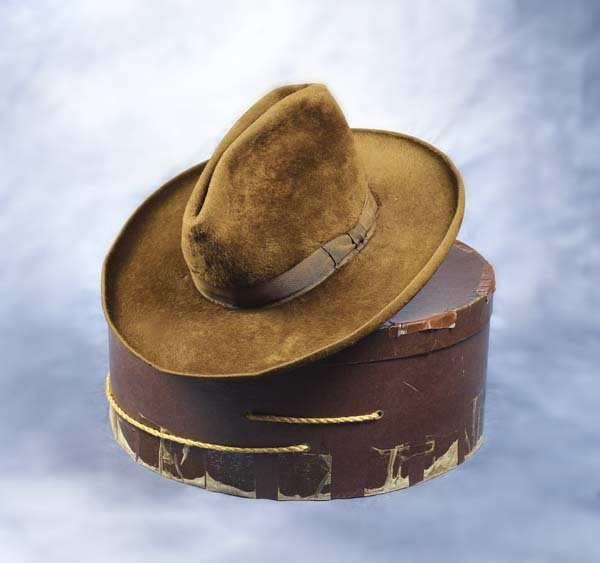 287 Stetson Hat Quot Buffalo Bill Quot Cody Lot 287