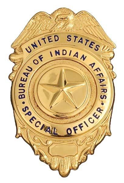 88 montana bureau of indian affairs badge lot 88