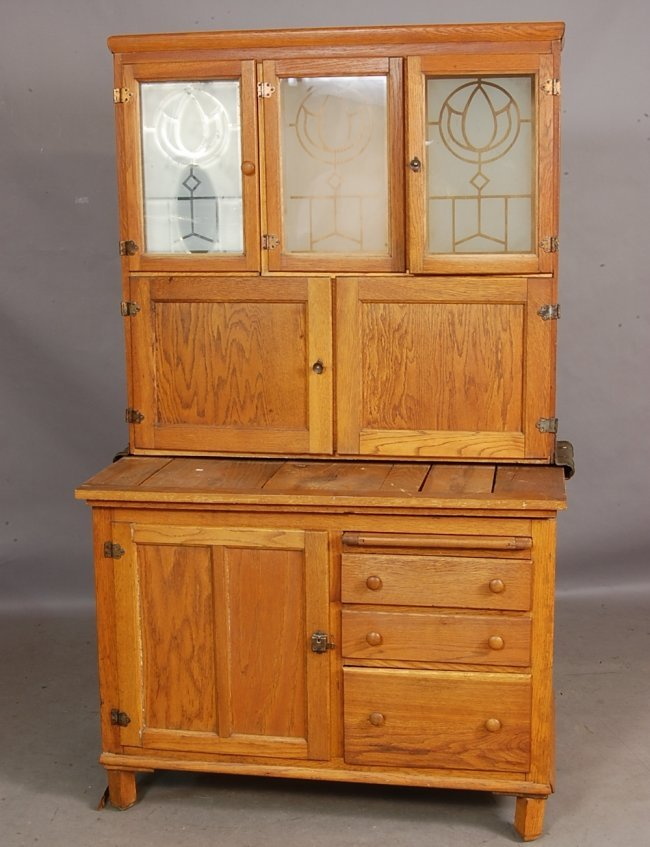 298 hoosier style oak kitchen cabinet lot 298 antique kitchen cabinet ebay