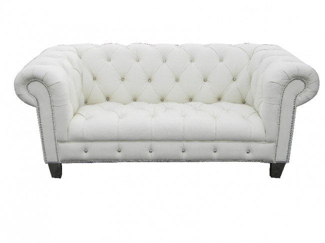 awesome pics of white leather tufted sofa