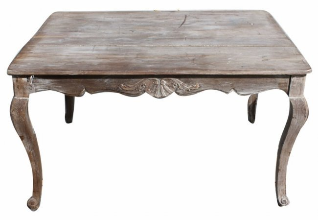 Weathered Dining Table Black Orchid Grand Provence Grey Weathered - Weathered dining table