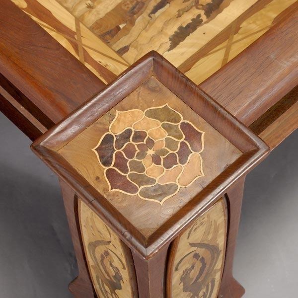 417 Art Nouveau Style Coffee Table Lot 417